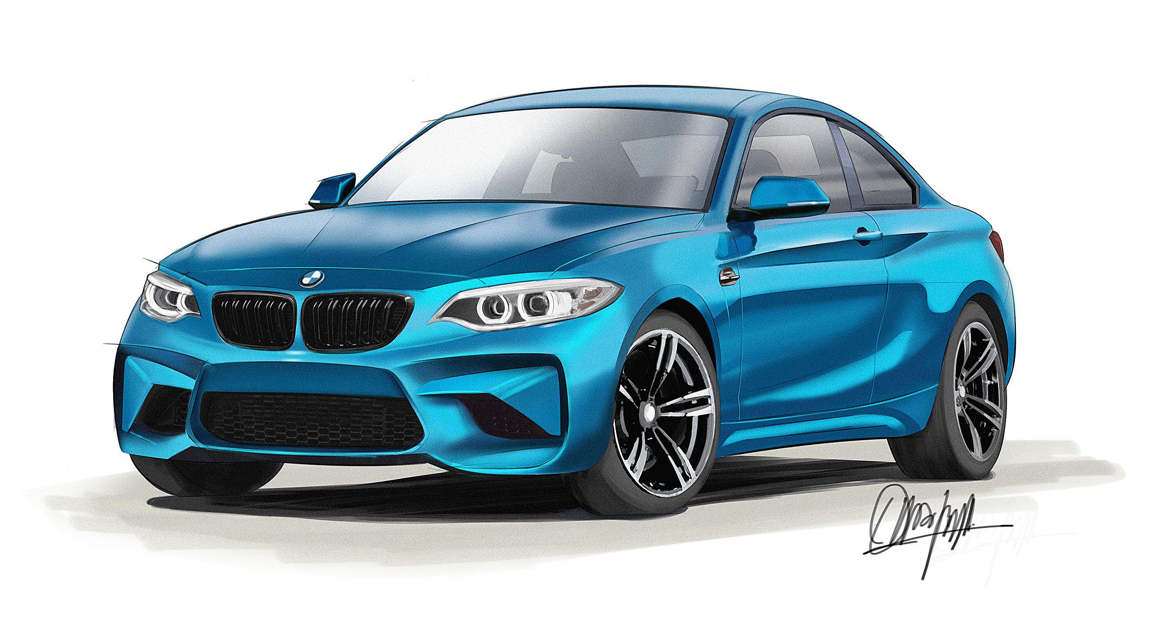 ILUSTRACION BMW M2